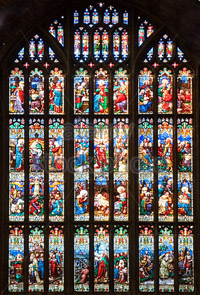 Gloucester Cathedral's Great East Window @ Norton Village Hall