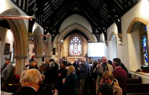 Benefice Service at Down Hatherley 14/01/18