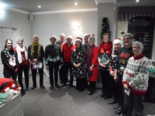 Christmas Carols at Hatherley Manor 2019