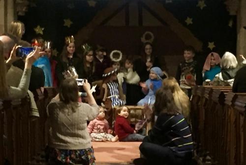 Christmas 2019 crib service